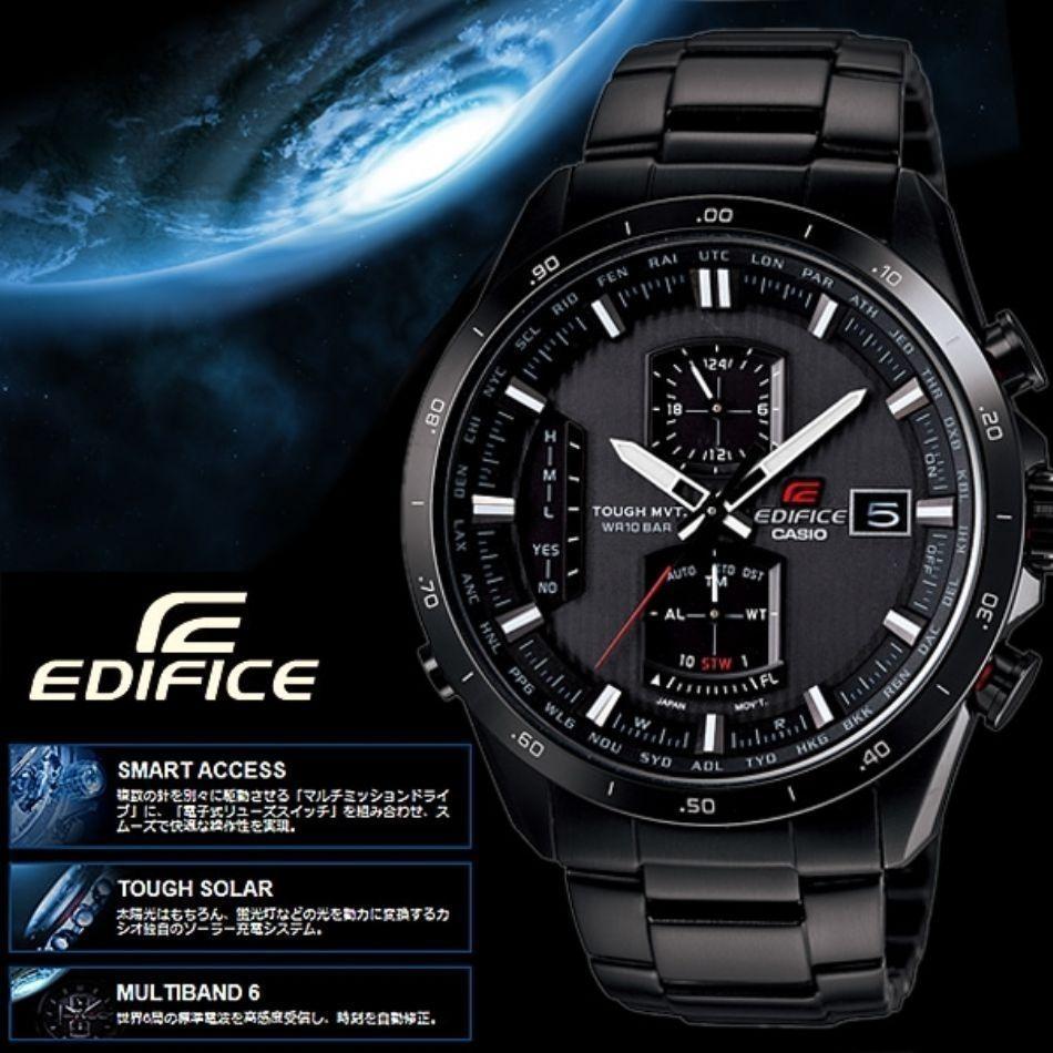 1a51a99cb79b reloj casio edifice eqwa1110dc-1a (usado). Cargando zoom.