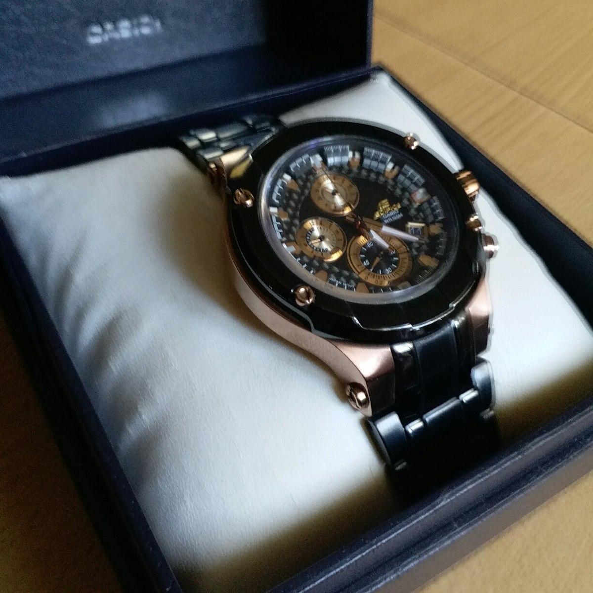 aa8173e0779e reloj casio edifice gold efx500 zafiro. Cargando zoom.