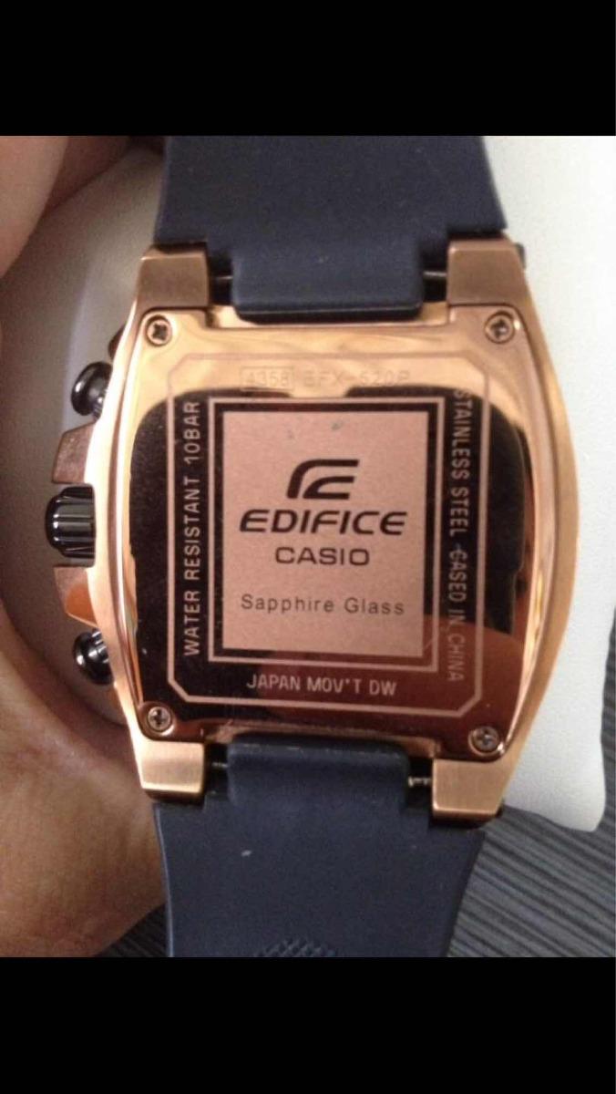 be976ad53d38 Reloj Casio Edifice Gold Label Original - Bs. 2.940.000