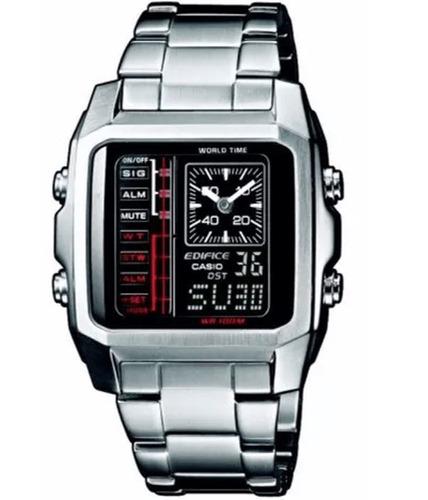 reloj casio edifice hombre digital analogo efa-124d-1avdf