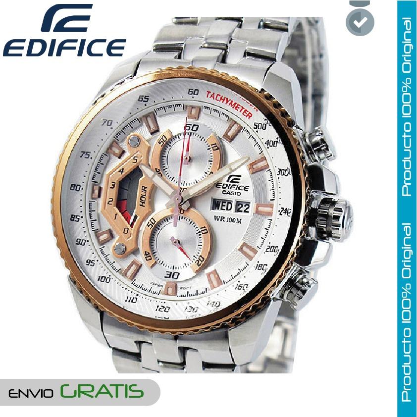 85f271d2166e reloj casio edifice hombre ef-558d-7a cronografo - bronce. Cargando zoom.