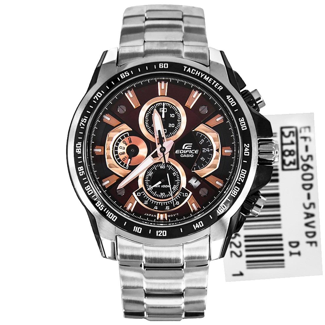 Reloj Casio Edifice Hombre Ef 560d 5a Envío Internacional