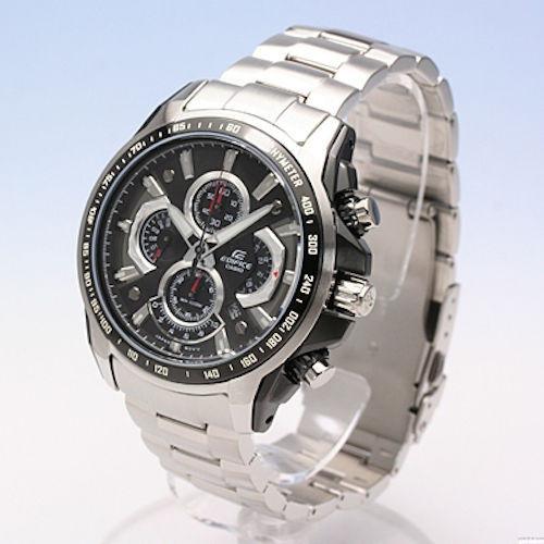 Reloj Casio Edifice Mineral Glass Cronografo 100m Ef560d 1av