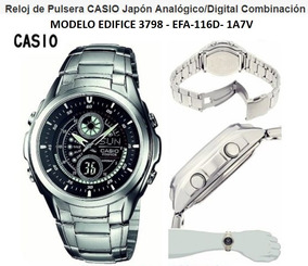 Reloj Casio Edifice Modelo 3798 Efa 116 (acero Inoxidable)