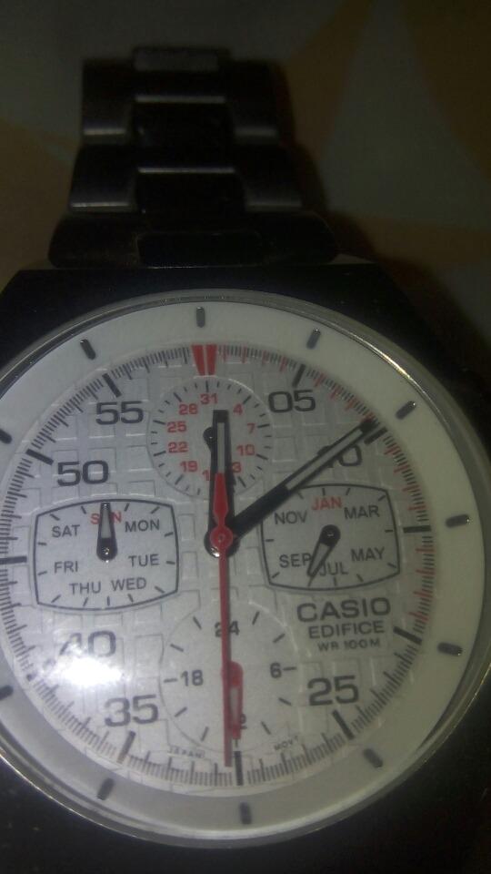 c743e6b6fe15 reloj casio edifice modelo ef 3-11. Cargando zoom.