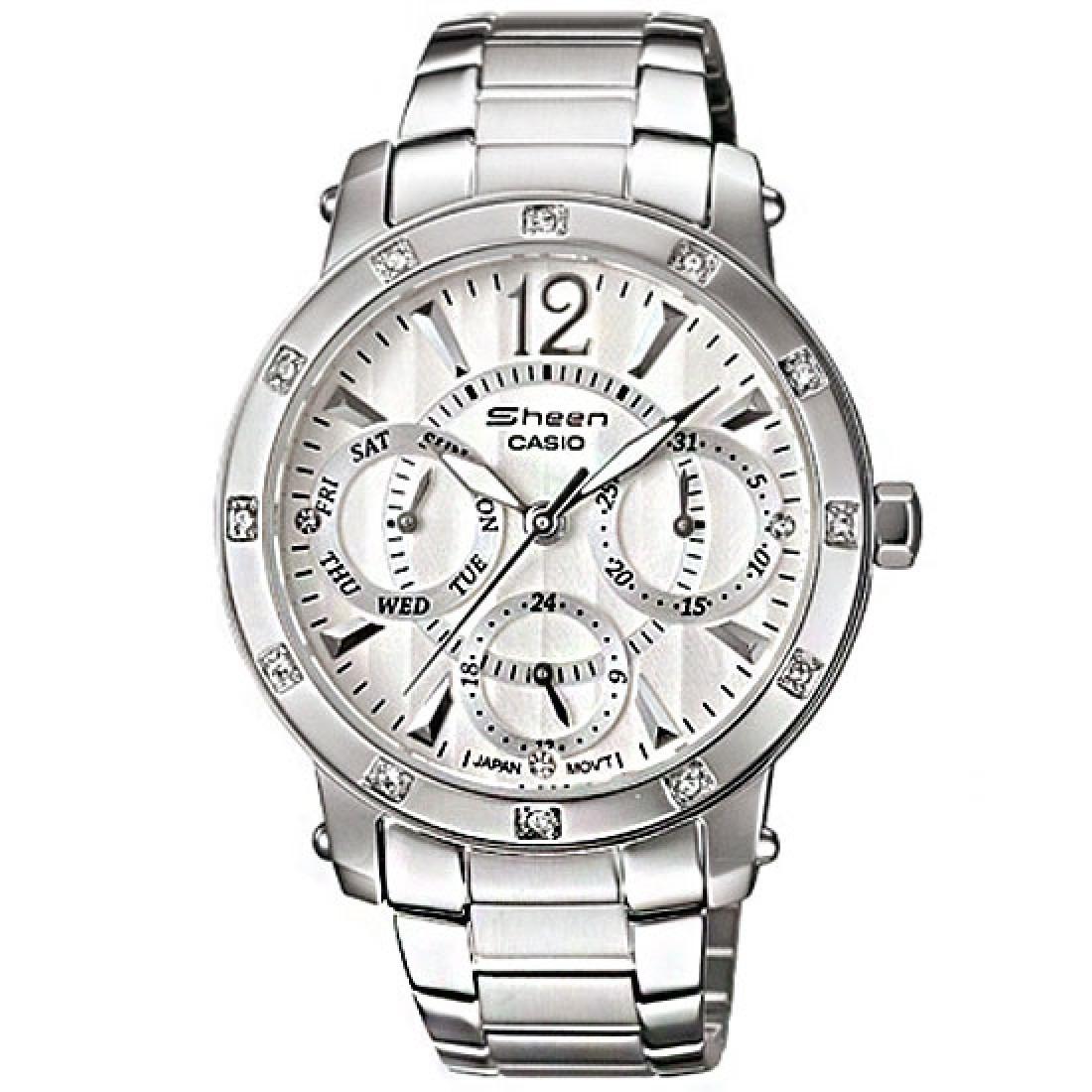 2d2c5cf59291 reloj casio edifice mujer shn-3012d-7a envío internacional. Cargando zoom.