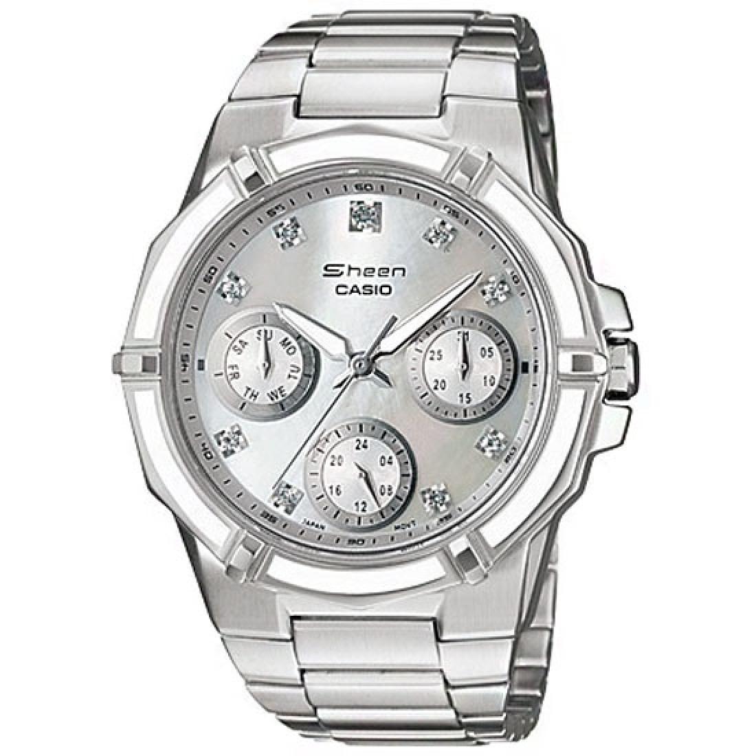 fd043ec92ed2 reloj casio edifice mujer shn-3015d-7a envío internacional. Cargando zoom.