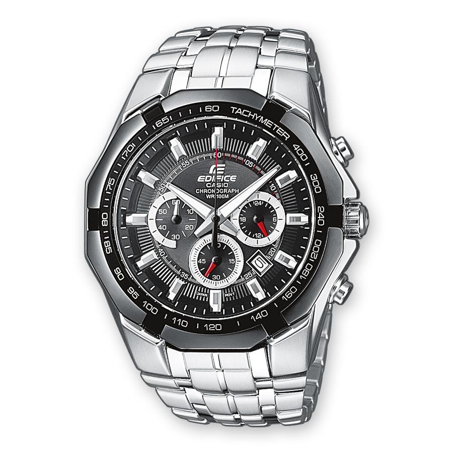 5c8a2da0c3aa Reloj Casio Edifice Plata Ef-540d-1av Para Hombre -   398.900 en Mercado  Libre
