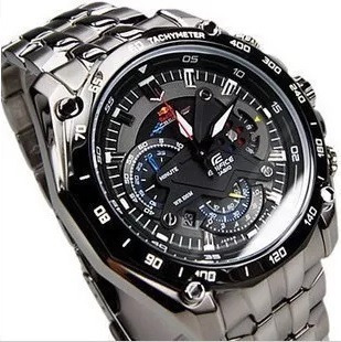 reloj casio edifice red bull ef 550 - original