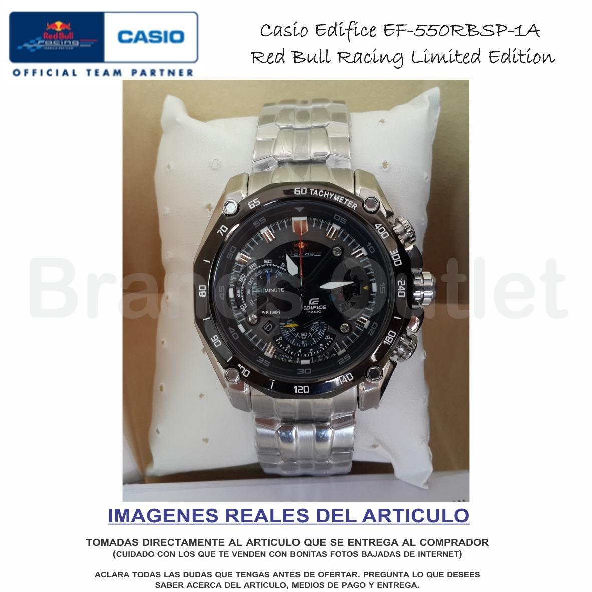 b54c87ff7ec8 reloj casio edifice redbull original- obsequio- envío gratis. Cargando zoom.