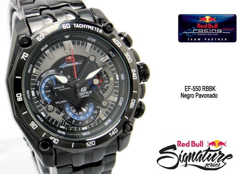 Edifice Redbull Reloj Original Obsequios Casio qR5jL34A
