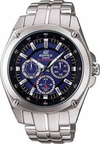 reloj casio ef-330sb-2avdf plateado