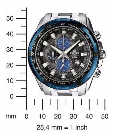 reloj casio ef 539d edifice caja pulso acero 100% original