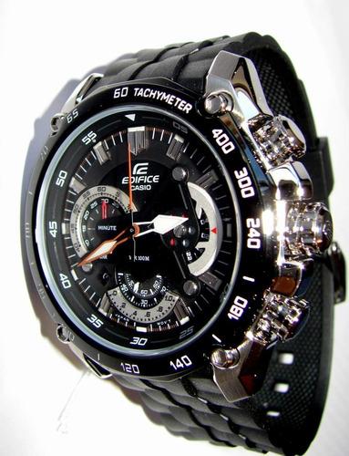reloj casio ef 550 1a goma promocion 100% original