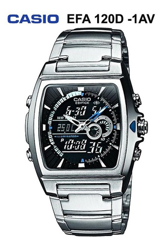 reloj casio efa 120 metalico originalvarios modelos