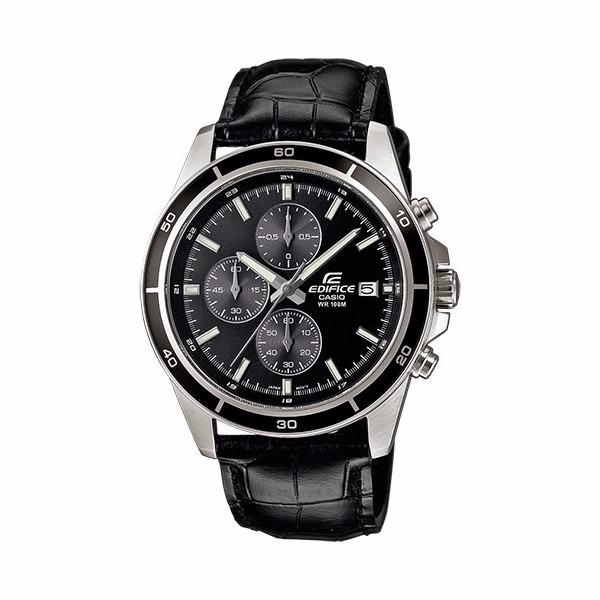 acf25b52cc26 Reloj Casio Efr526l1a Edifice Negro - Cronometro Original - S  380 ...