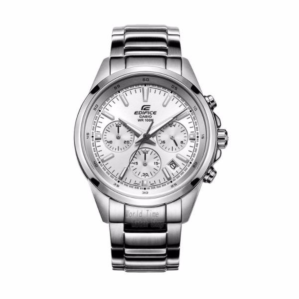 3fa1634599ae Reloj Casio Efr527d7a Edifice Blanco - Cronometro Original - S  380 ...