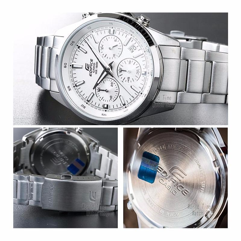 455536649df6 reloj casio efr527d7a edifice blanco - cronometro original. Cargando zoom.