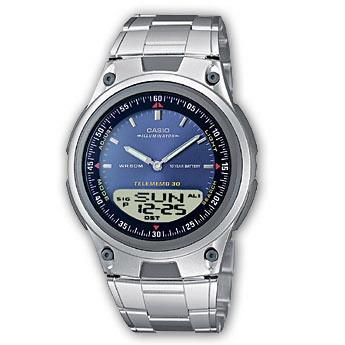 reloj casio estandar aw80 metal luz sumergible 3 alarmas