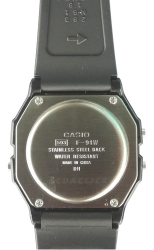 reloj casio f-91 original... no copias!! ( somos ecuaclick )