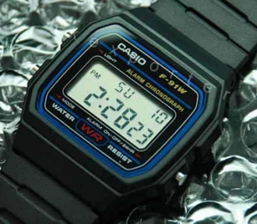 reloj casio f 91w deportivo hombre f-91 orginal