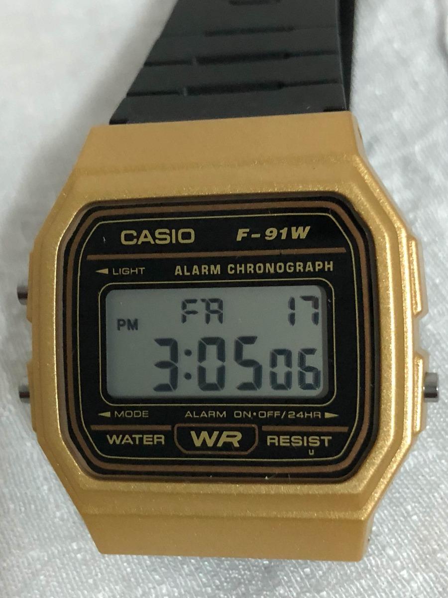 f9ae657a9d2 Reloj Casio F-91w Edición Retro Dorado ! Envío Gratis ! -   275.00 ...