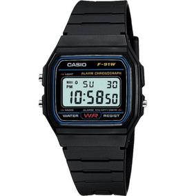 Original Casio F91w Clásico Envío Gartia Reloj Gratis Unisex 4ARL35j