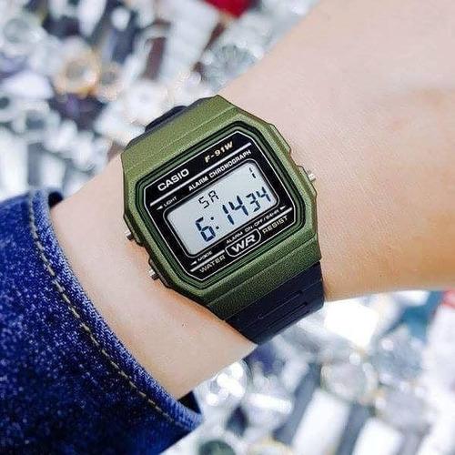 reloj casio f-91wm unisex deportivo original envío gratis