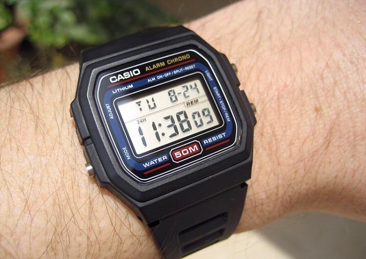 new product 40149 d7d8b Reloj Casio F105w-1a Nuevo En Caja