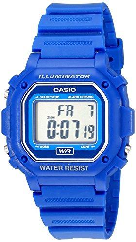 reloj casio f108wh resistente al agua con correa de resina