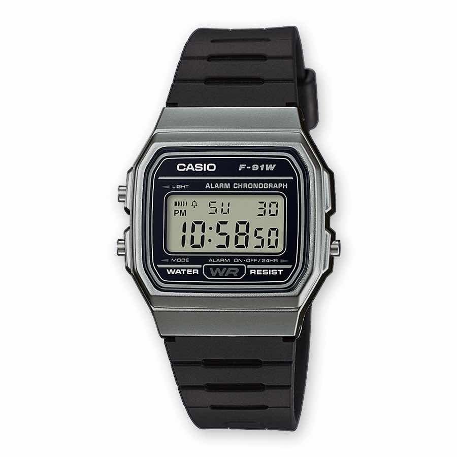 01562453d277 Reloj Casio F91 Dorado Alarma Luz Cronometro Wr -   449.00 en ...