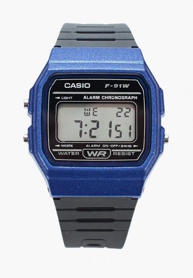 3640bc3864c0 Reloj Casio F91 Vintage Azul Original -   375.00 en Mercado Libre