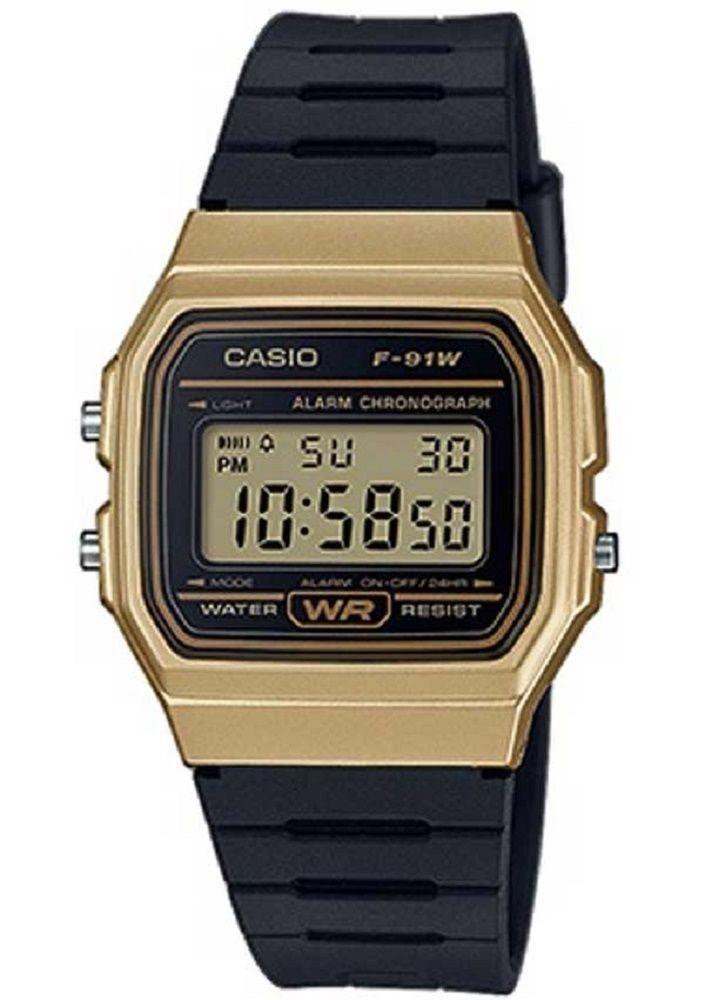 93df8bc3315c reloj casio f91 vintage dorado plata original envío gratis. Cargando zoom.
