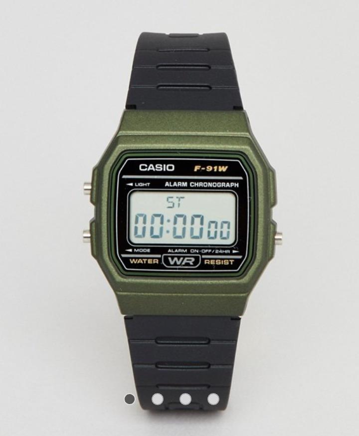 8159babcac7b Reloj Casio F91 Vintage Verde Original -   375.00 en Mercado Libre