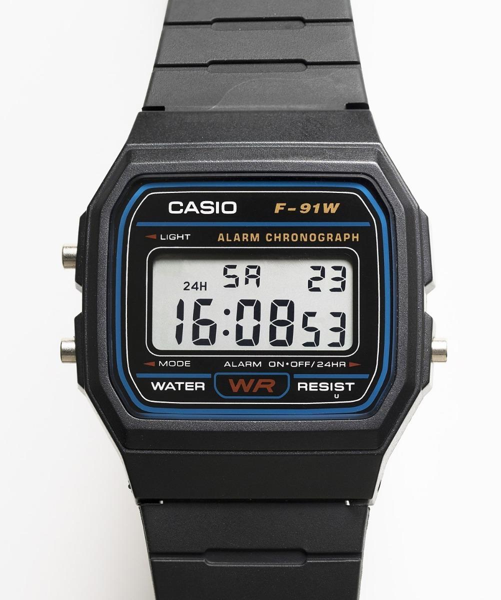 1e17723273be Reloj Casio F91 W Retro Ochentero -   13.900 en Mercado Libre