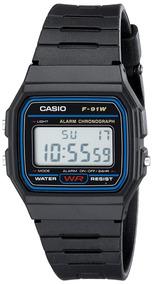 4ebfb7c2ddcc Reloj Casio F91w El Clasico - Relojes en Mercado Libre México