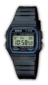 Casio Agua Reloj Resistente Al Negro Original F91w htxBQrsdC