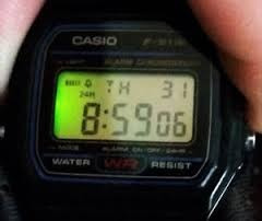 reloj casio f91w original clasico
