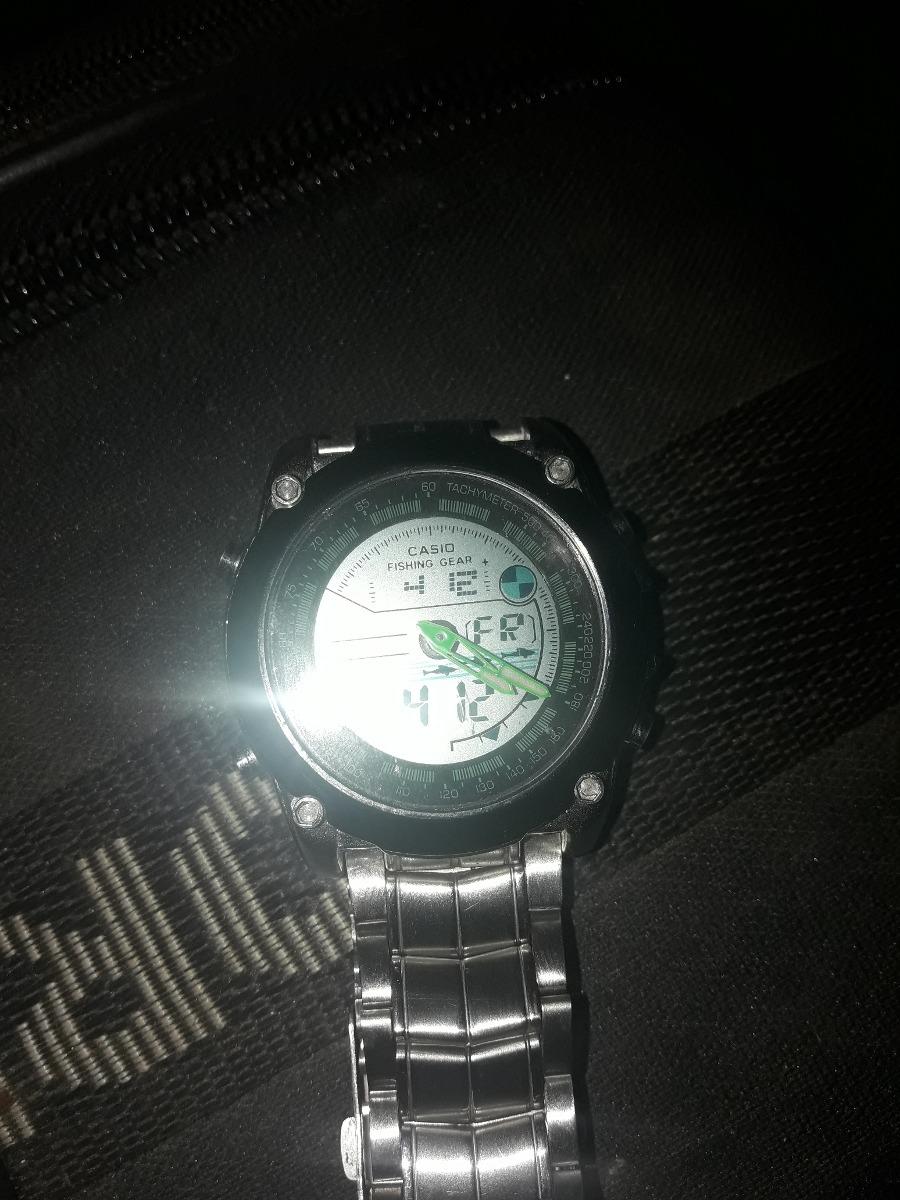 Casio Gear Fishing Reloj Reloj Gear Reloj Casio Fishing w80PXNnOk