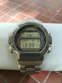 Reloj Casio Forester Ft 200w Fase Lunar