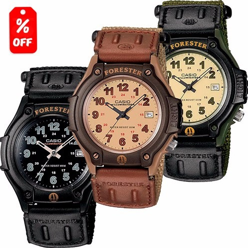 reloj casio forester ft500 - 100% original cfmx -