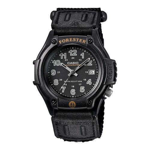 reloj casio forester ft500 lona iluminartor