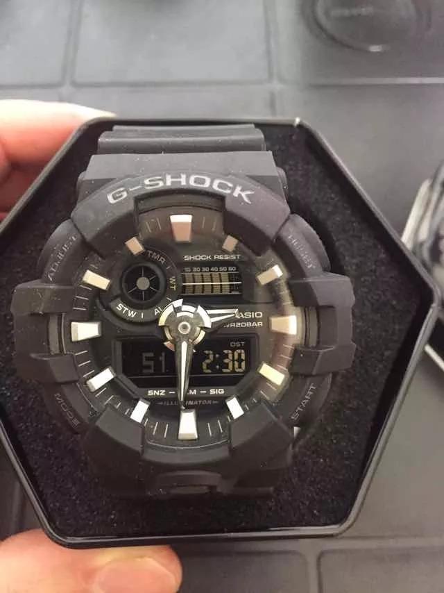the best attitude 162b9 587cb Reloj Casio G-shock 5522 Black