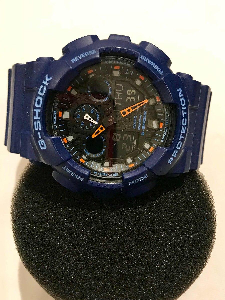 e057bfb6953e reloj casio g-shock azul y naranja. Cargando zoom.