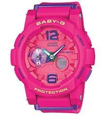 387141b10697 Reloj Casio G-shock Baby G Bga-180-4b3 Fucsia Para Mujer -   379.900 ...