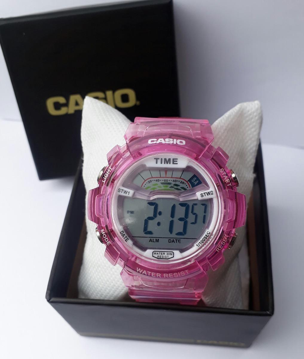 Reloj Casio G Shock Baby Rosa -   399.99 en Mercado Libre ea7c0de68e3f