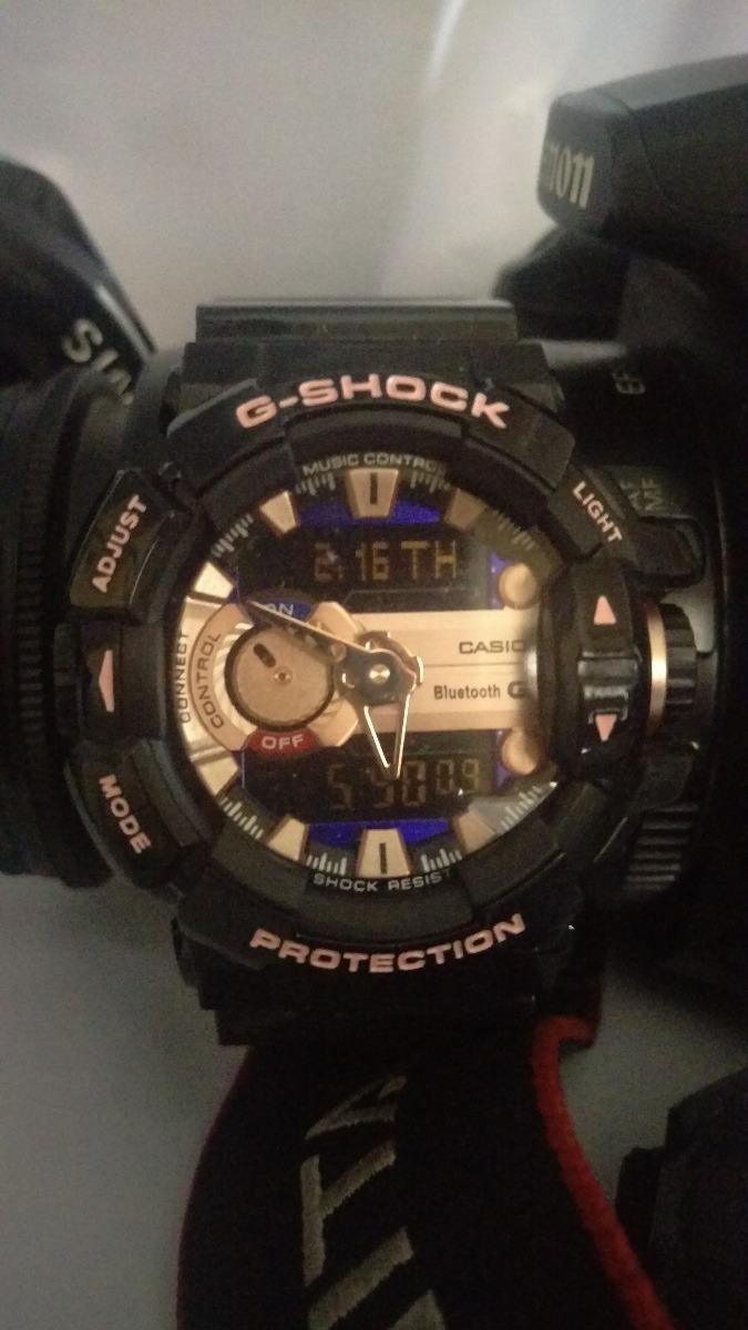 Reloj Casio G-shock Black   Pink bef548e5ab40