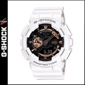 Reloj 2018 Casio Ga 110rg Hombre 7a G Dorado Shock Blanco uTlF13KJc