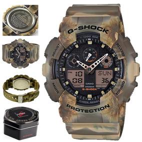 Reloj Casio G shock Camuflaje Ga 100mm 5a Envio Gratis |w|