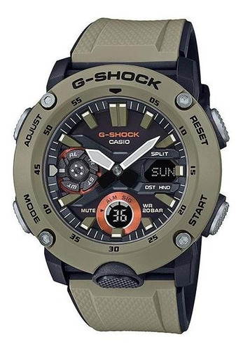 reloj casio g-shock carbon core guard ga-2000-5a